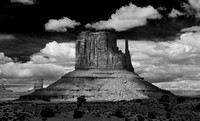 Monument Valley B & W #2