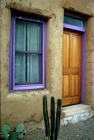 """Trimmed in Purple"" - Tucson Barrio"