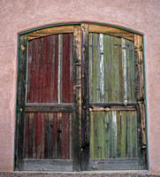 Barn Doors #2 - Tucson Barrio