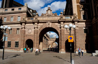 Entrance to Old Town, Stockholm