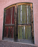 Barn Doors #1 - Tucson Barrio